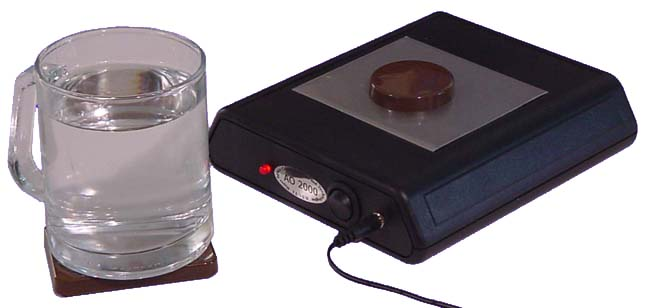 AO2000 charging water with magickal energy